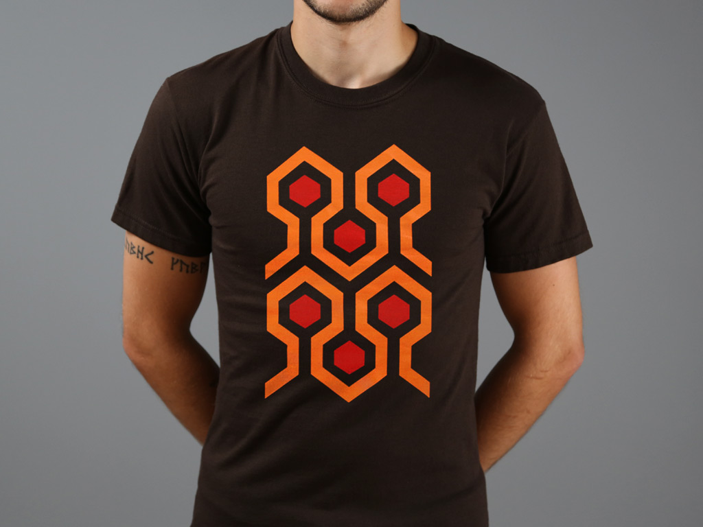 The Overlook Hotel Carpet Motif Regular T Shirt Last Exit To Nowhere